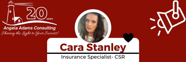 Employee Spotlight – Cara Stanley