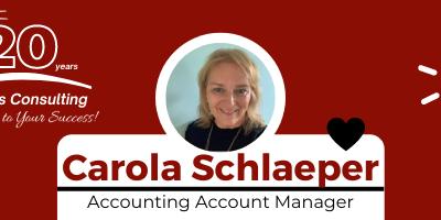 Employee Spotlight – Carola Schlaeper