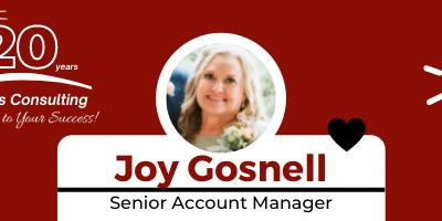Employee Spotlight – Joy Gosnell