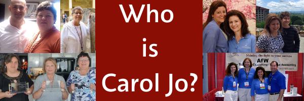 Blog Post- Who is Carol Jo?